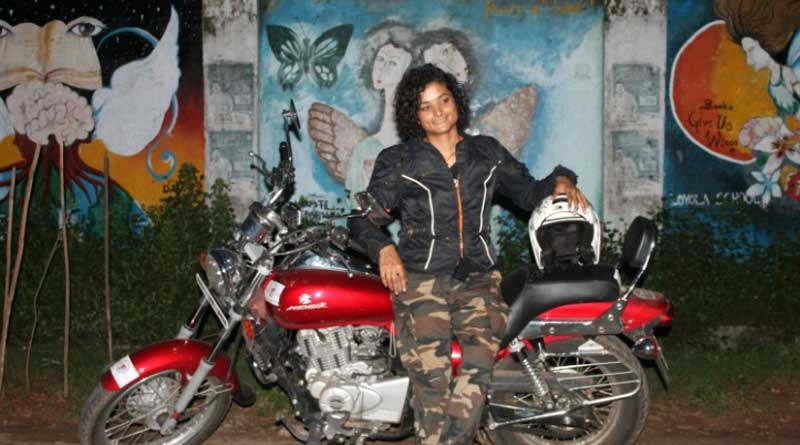 India is safe for women, claimed solo female biker travelling in India