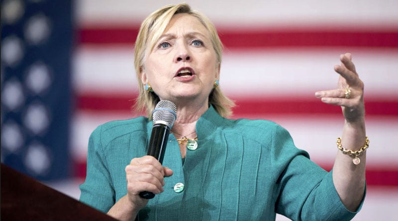 Trump said second amendment people could stop Clinton