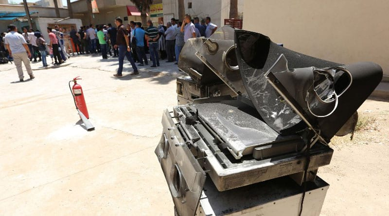 Baghdad hospital fire: Public anger rises after 11 babies killed