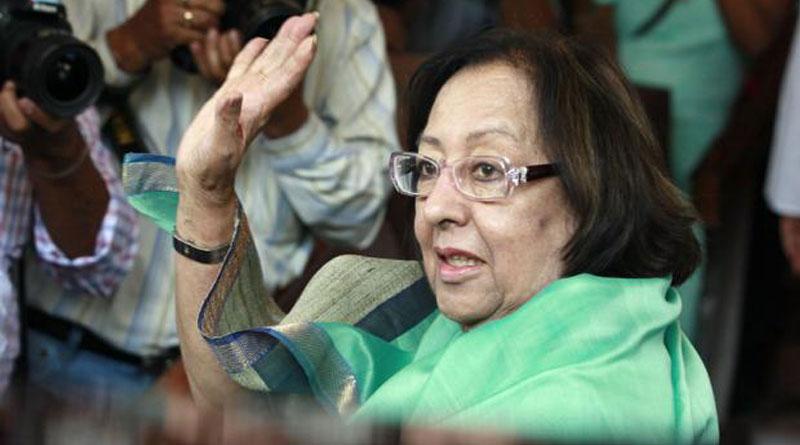 Najma Heptullah to be Manipur Governor