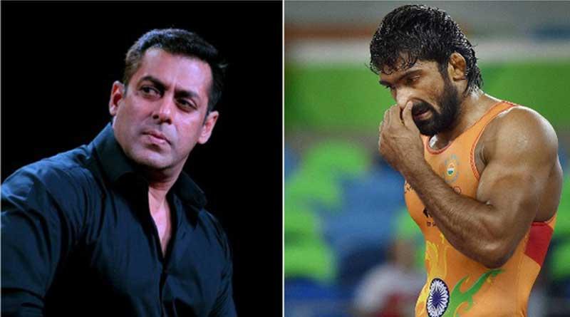 Yogeshwar Dutta lashes Back at Salman Khan Fan's Criticism