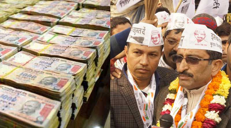 IT Dept recovers Unaccounted Wealth of Rs 130 Crore from AAP MLA