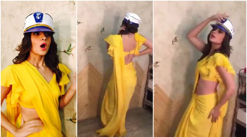Alia Bhatt's Sexbomb Rustom Challenge Set Fire In Internet