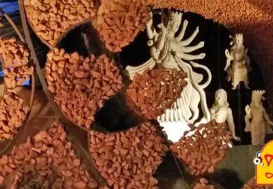 রাশিচক্রের আবর্তে মায়ের আগমনী বাদামতলায়