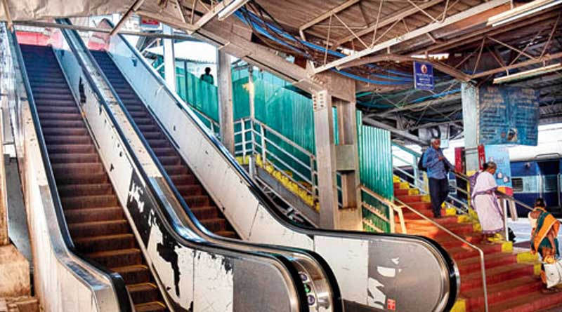 Eastern Railway has planned to install escalators and lifts in some stations