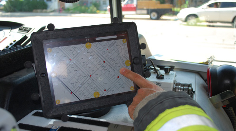 Fire Brigades Now Armed with GPS Mapping In Kolkata