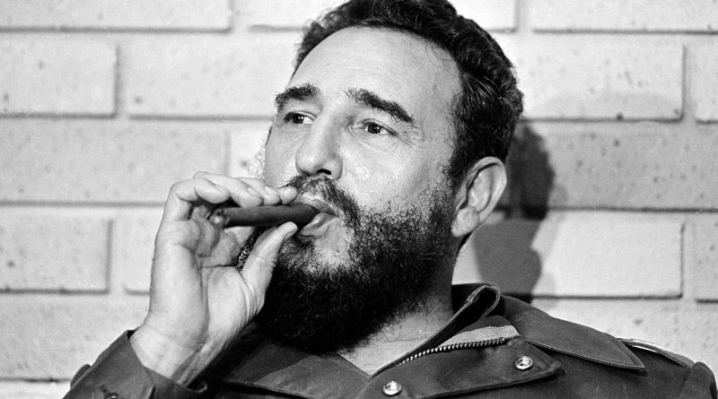 In Honour Of Fidel Kastro World's Largest Cigar Rolled In Cuba