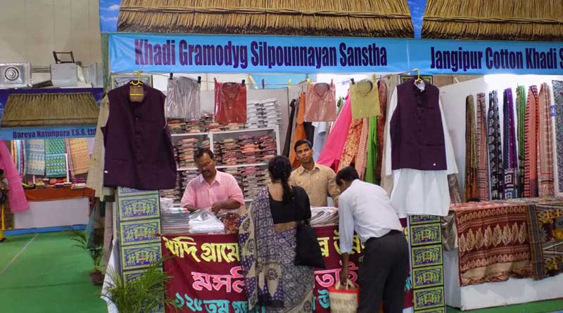 khadi materials will export to rome from West Bengal