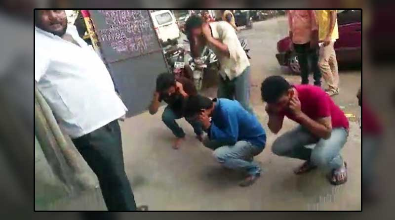 Muslim Workers Forced To Do Sit-Ups After They Refused To Donate Rs.100 For Ganpati Festival
