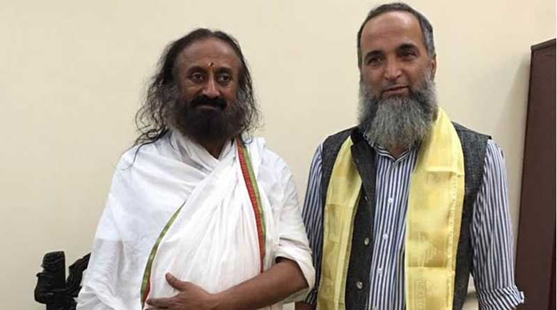 Spiritual guru Sri Sri Ravi Shankar met terrorist Burhan Wani's father