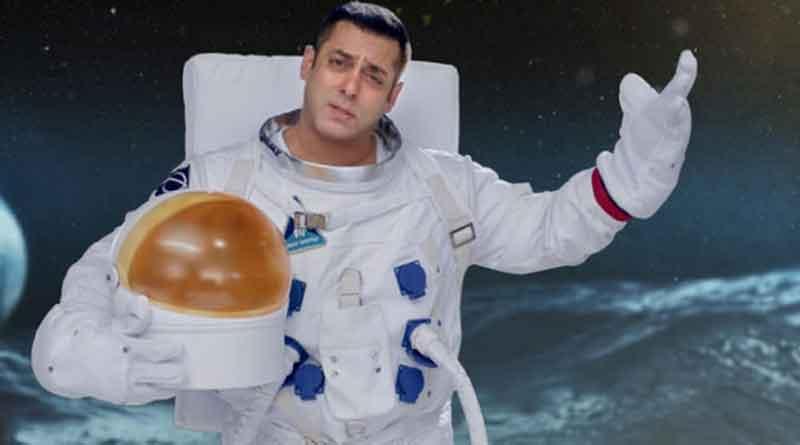 Salman Khan as an astronaut in the promo of Bigg Boss 10