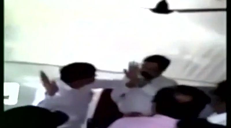 NCP MLA from Karjat, Suresh Lad slaps deputy collector in his office in Raigad