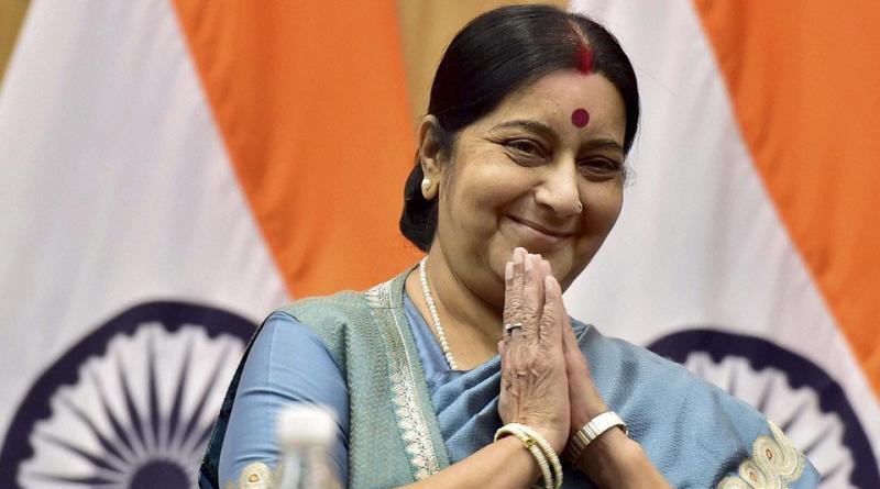 sushma-swaraj-helped-couple-for-honeymoon