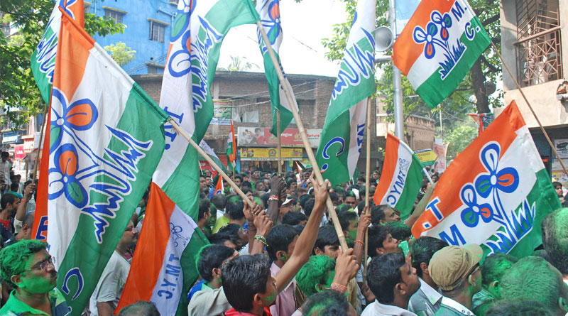 Bikash Bhuniya, West Midnapore District President of Congress, joins Trinamool along with several other Congress leaders