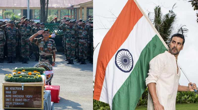 Celebrity pays tribute to the martyrs in Uri