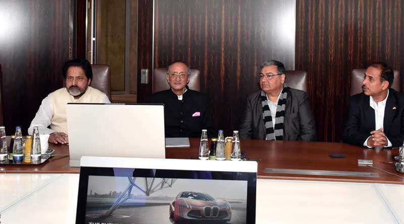BMW had a meeting with delegation from Bengal and It was a productive meeting says Amit Mitra