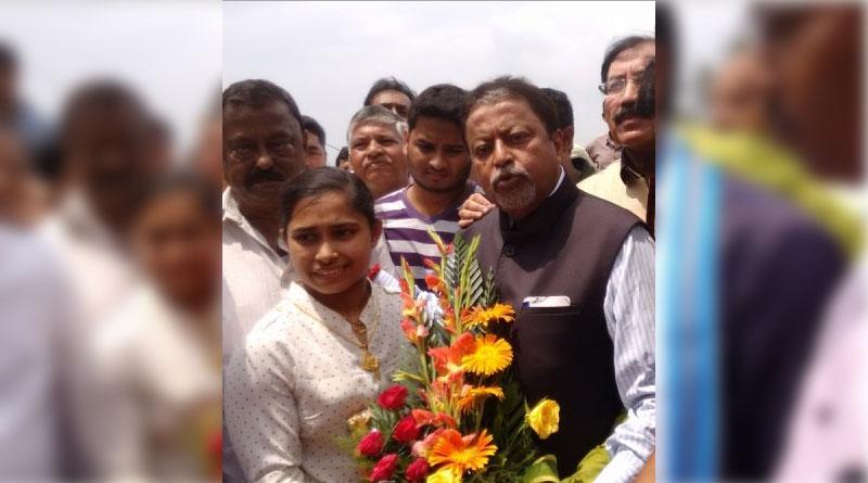 Trinamool Congress honours gymnast Dipa Karmakar