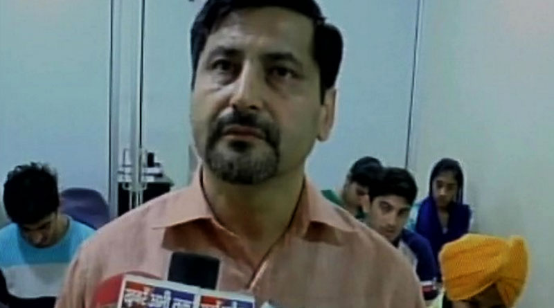 Haryana Teacher caught beating up his students on camera