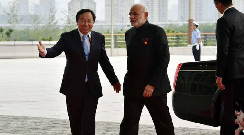 Prime Minister Narendra Modi on Sunday told Chinese President Xi Jinping about India's concerns over terrorism