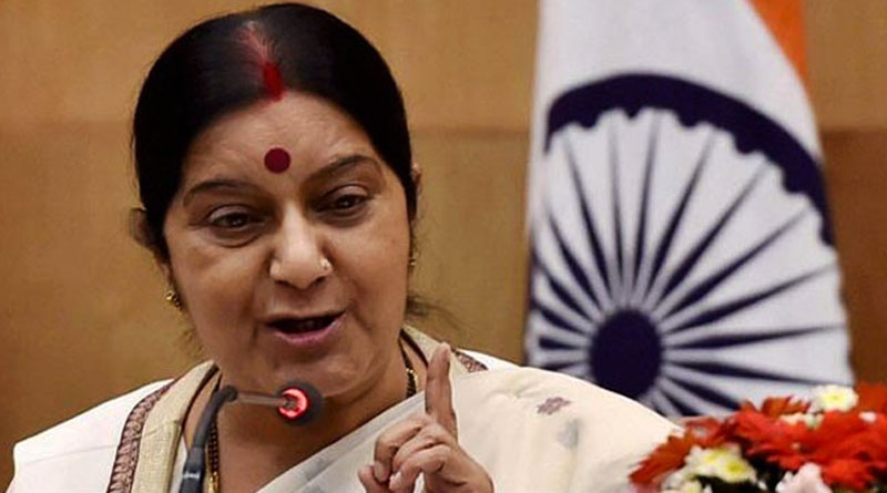 Sushma seeks report from Indian envoy to Qatar about 2 Indians who are in death row