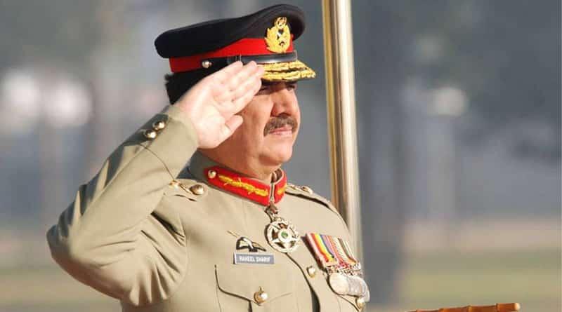Pakistan army chief Raheel Sharif warns enemies