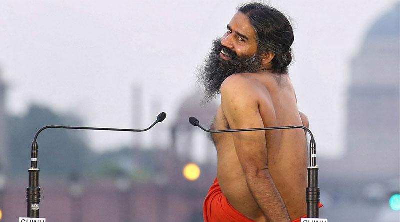 Baba Ramdev performs Yoga in Tihar jail