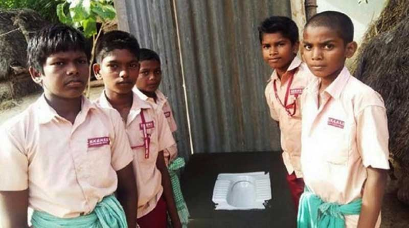 Four Classmates Join Hands To Build A Toilet For Their Sick Friend In Chennai