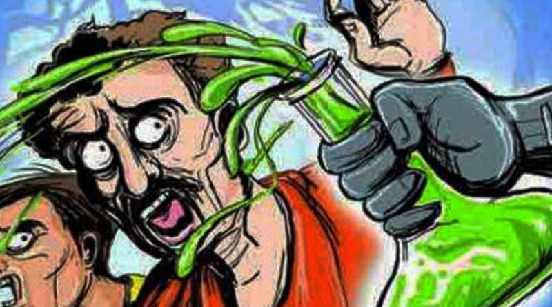 Dhupguri: Boy refuses love, girl throws acid on him