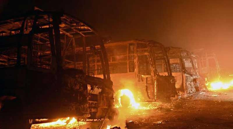 A 22 year old woman arsonist accused of setting fire in 42 buses