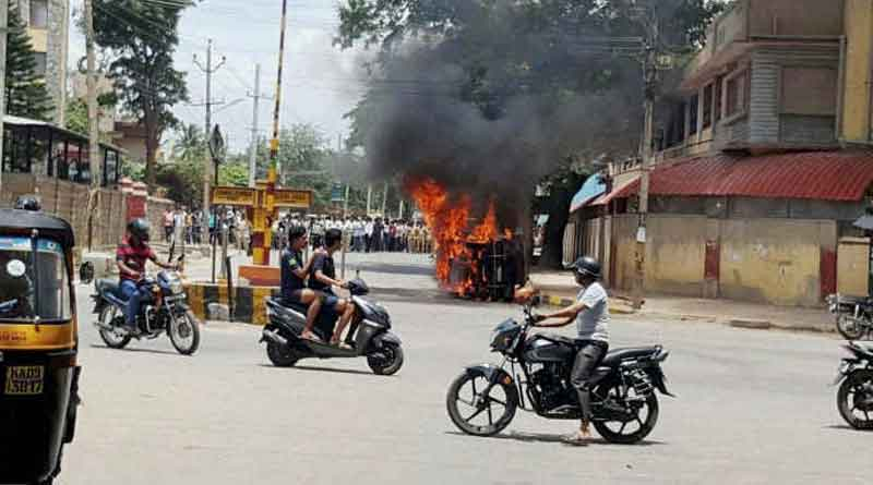 Uneasy calm in Bengaluru as parts of city remain under curfew