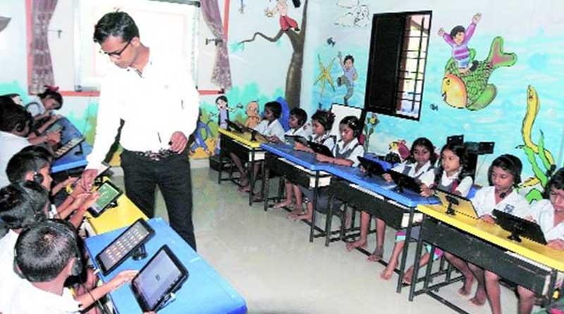 No dropoutsIn Maharashtra's first digital zilla parishad school