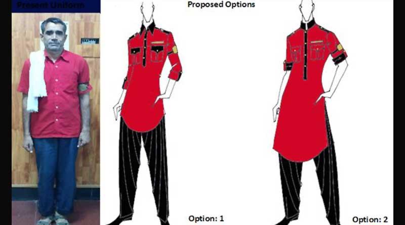 people will choose the new designer uniform of Indian Railways staff