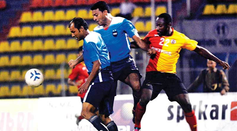 Eastbengal wins against Bangbir in Bordoloi trophy