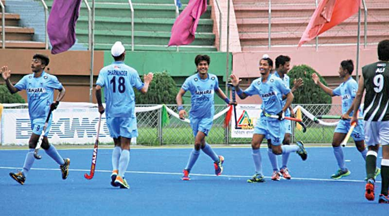 India wins against Pakistan in hockey