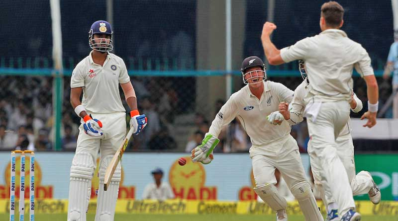 India vs New Zealand day 1 result