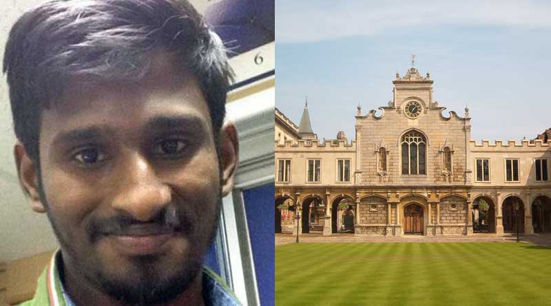 Chennai youth who used to live on footpath now studying at Cambridge University