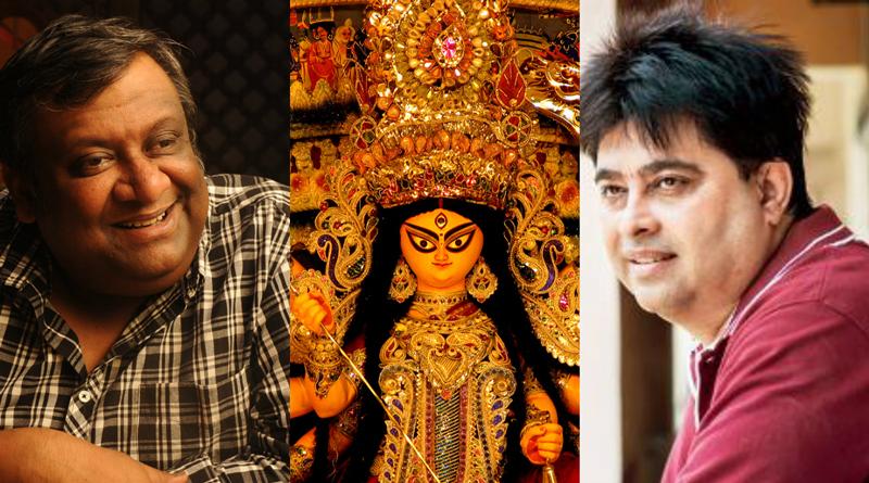 Kaushik Ganguly And Jeet Gaanguli Making The Theme Song Of New Alipore Suruchi Sangha