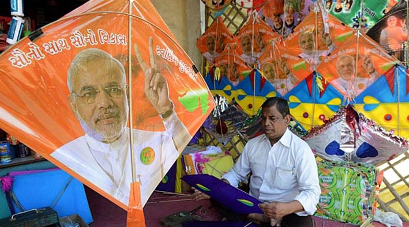 Modi Kites To Hit West Bengal Sky In This Viswakarma Puja