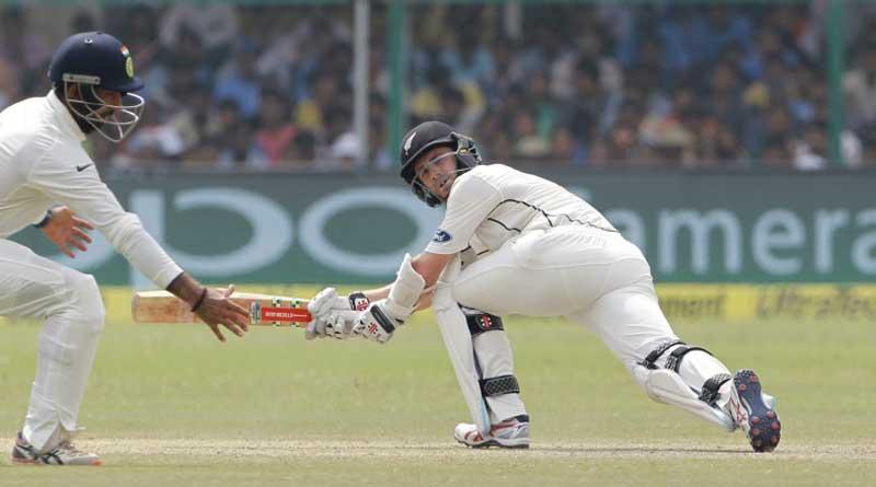 New Zealand stilltrail India by 166 runs