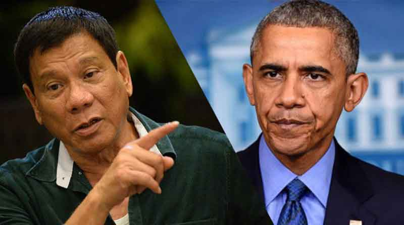 Barack Obama cancels meeting after Philippines president calls him 'son of a whore'