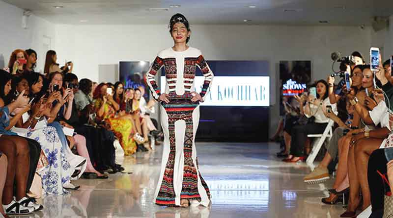 Acid attack victim Reshma sets fire on the floor during fashion week
