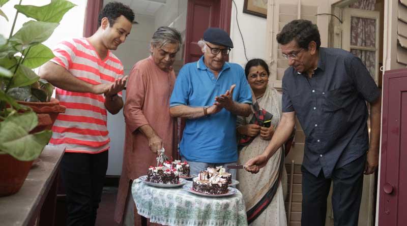 Double birthday celebration for Sandip Ray and Sabyasachi Chakrabarty