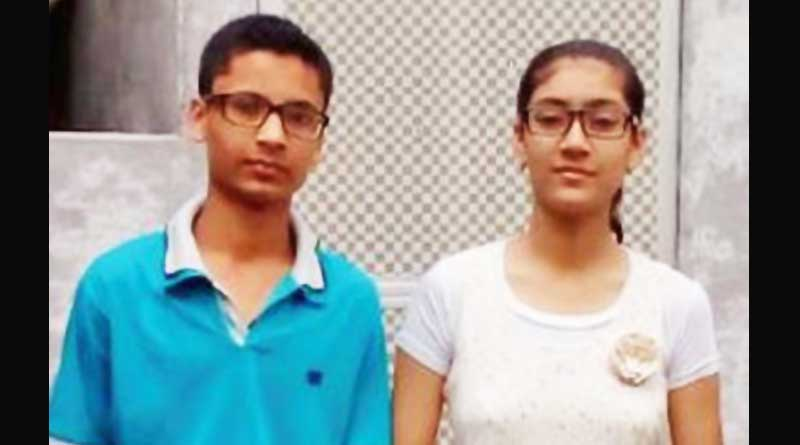 Siblings from saved their scholarship money and gift a toilet to their school