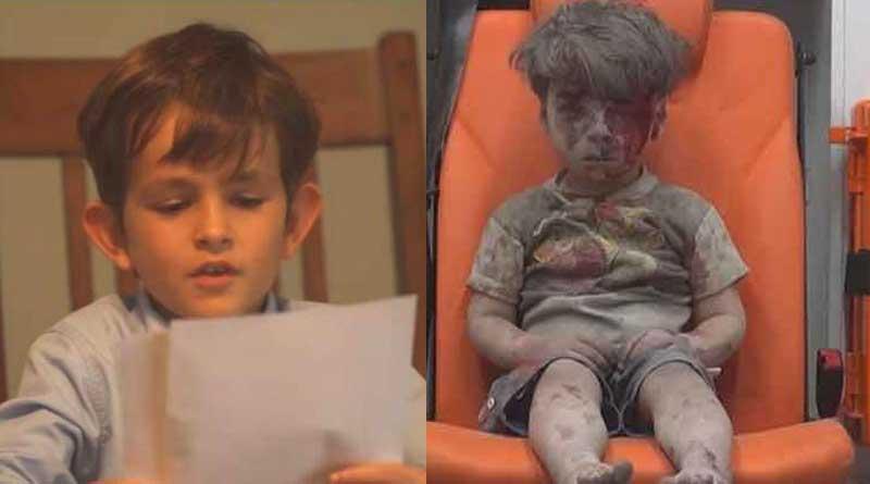 US boy writes to Obama, offers home to Syrian refugee Omran Daqneesh