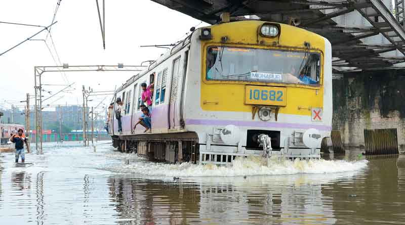 Carshed remains water logged in howrah