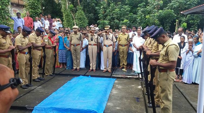 After 24 years Army officer's remains brought to Kerala