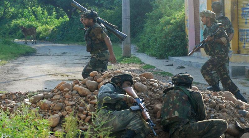 3 Terrorists killed in an encounter in Handwara, one Army Major dies