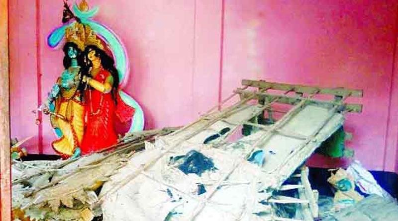 Communal Unrest spreads in Bangladesh as Fundamentalists Demolishes Hindu Temples, Idols