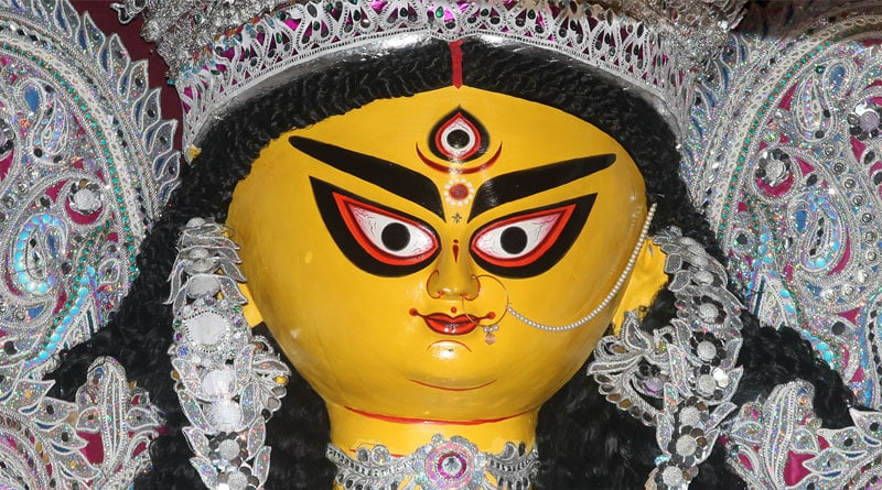 Durga Puja 2021: Bagbazar Sarbojanin Durga idol gets makeover