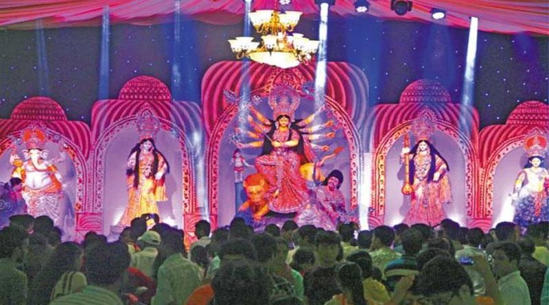 Durga Puja, the biggest religious festival of the Hindu Community, began at Dhakeshwari National Temple